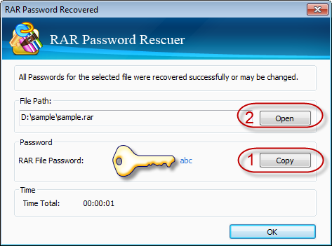 rar password recovery retrieve
